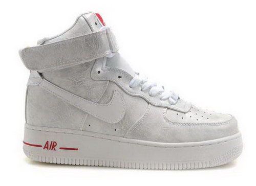 Womens Nike Air Force 1 High Wns Mica White Red Greece