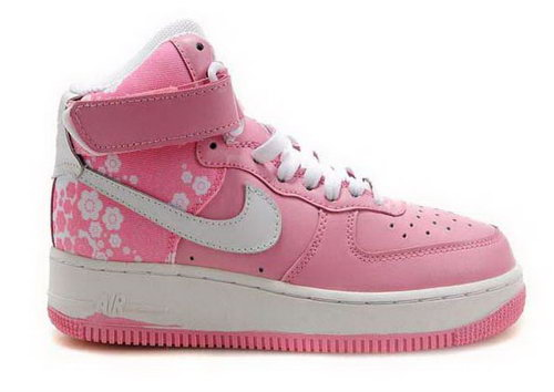 Womens Nike Air Force 1 High Wns Perfect Pink White Reduced