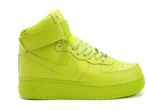 Womens Nike Air Force 1 High Wns Qk All Green France