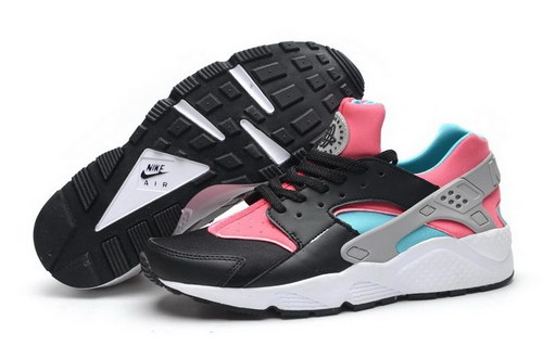 Womens Nike Air Huarache Black Pink Ireland