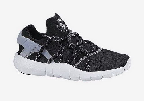 Womens Nike Air Huarache Nm Black White Sweden