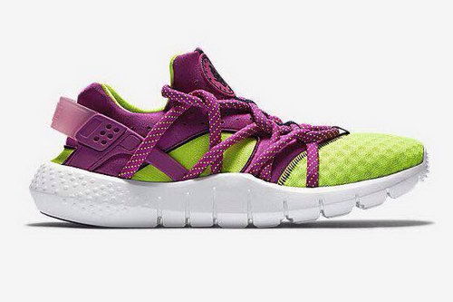 Womens Nike Air Huarache Nm Purple Green For Sale