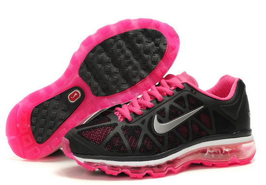 Womens Nike Air Max 2011 Black Pink Sale