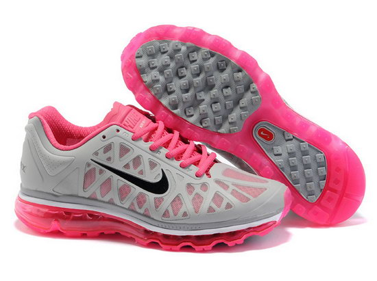 Womens Nike Air Max 2011 Grey Pink For Sale