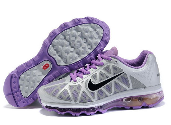 Womens Nike Air Max 2011 Grey Purple Online Store