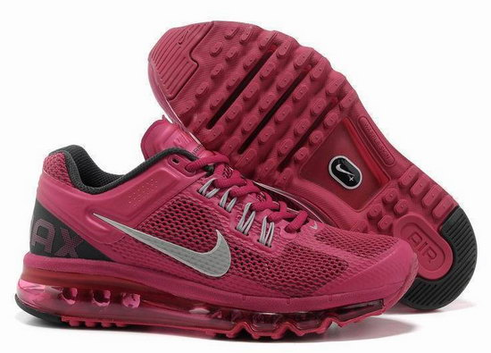 Womens Nike Air Max 2013 Wine Cheap
