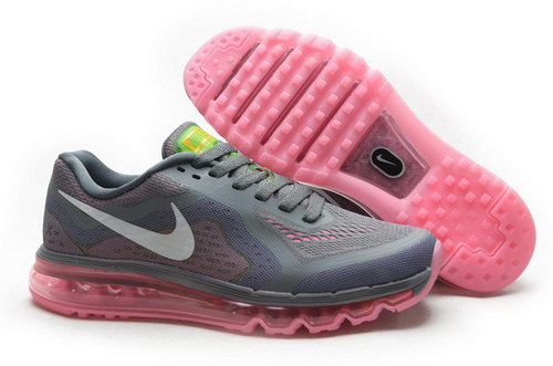 Womens Nike Air Max 2014 Pink Grey White Inexpensive