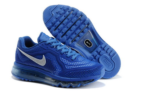Womens Nike Air Max 2014 Royal Blue White Coupon