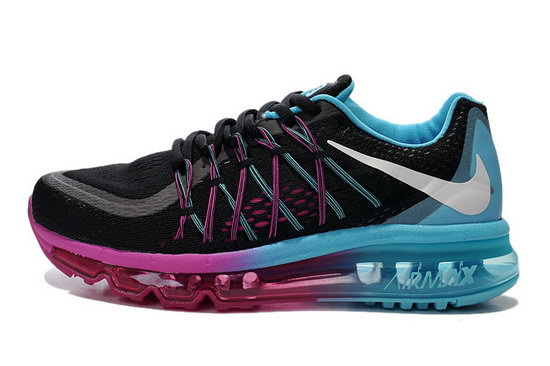 Womens Nike Air Max 2015 Blue Black Purple Denmark