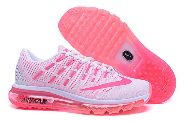 Womens Nike Air Max 2016 White Pink Sweden