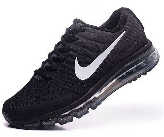 Womens Nike Air Max 2017 Black White For Sale