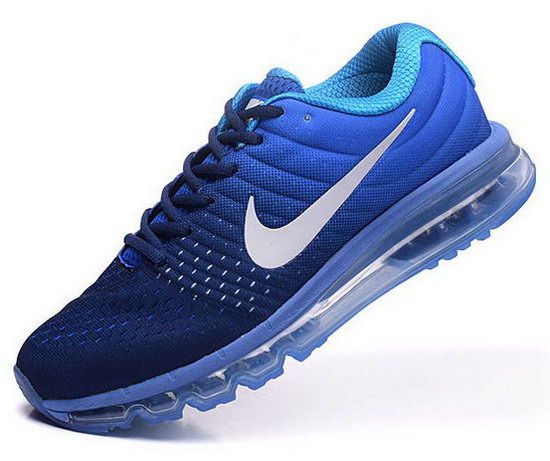 Womens Nike Air Max 2017 Blue Dark Blue Online Store