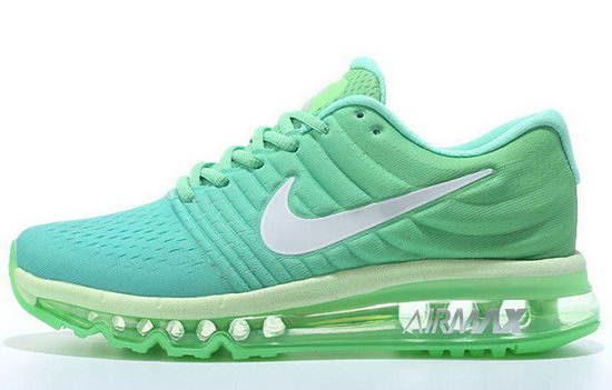Womens Nike Air Max 2017 Fluorescent Green Outlet Store