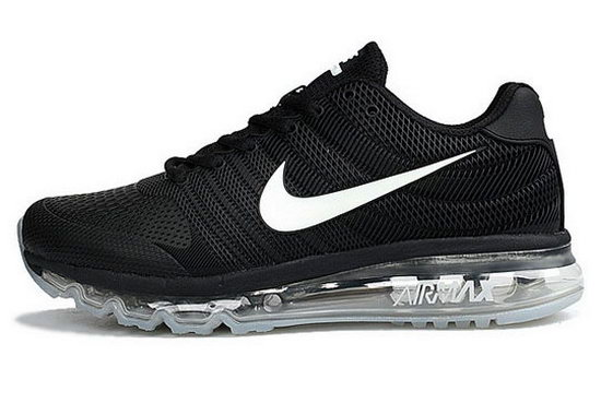 Womens Nike Air Max 2017 Kpu Ii Black White Cheap