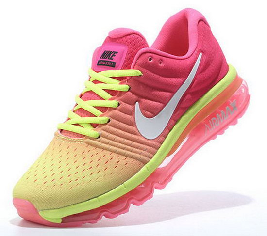 Womens Nike Air Max 2017 Pink Yellow Promo Code