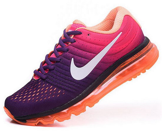 Womens Nike Air Max 2017 Purple Orange Pink Australia