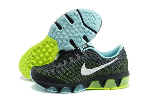 Womens Nike Air Max Tailwind 6 Black Blue Green Coupon Code