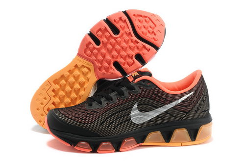 Womens Nike Air Max Tailwind 6 Black Orange Yellow Wholesale