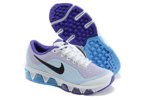 Womens Nike Air Max Tailwind 6 White Purple Online Store