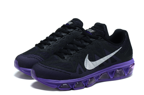 Womens Nike Air Max Tailwind 7 Black Purple Best Price