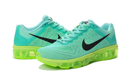 Womens Nike Air Max Tailwind 7 Green Black Discount