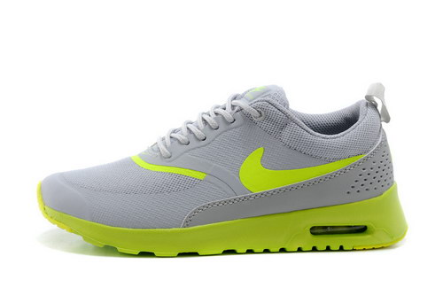 Womens Nike Air Max Thea Grey Green Outlet Online