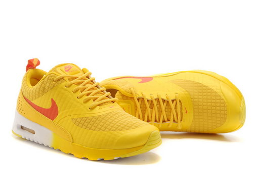 Womens Nike Air Max Thea Yellow Orange Low Price