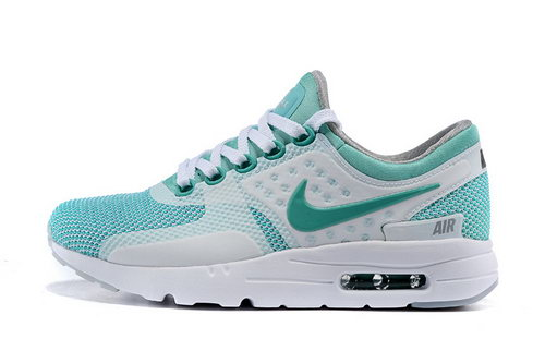 Womens Nike Air Max Zero White Green White Taiwan