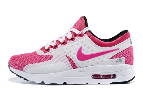 Womens Nike Air Max Zero White Pink Norway