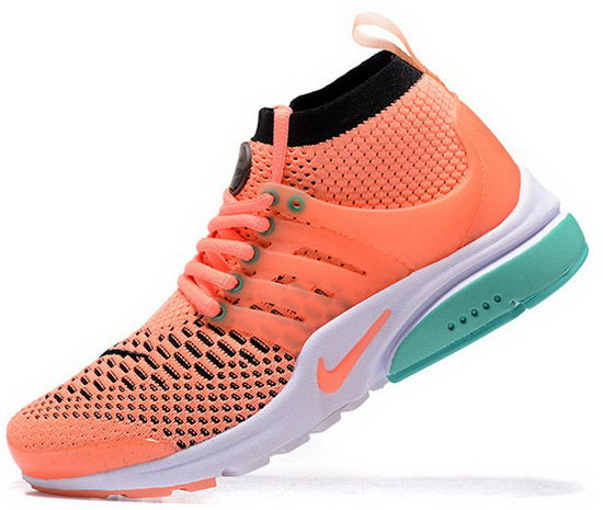 Womens Nike Air Presto Ultra Flyknit Orange Black 36-40 Wholesale