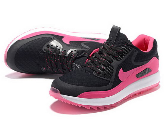 Womens Nike Air Zoom 90 It Black Pink Reduced