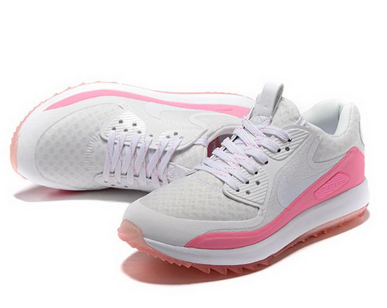 Womens Nike Air Zoom 90 It Grey Pink Online