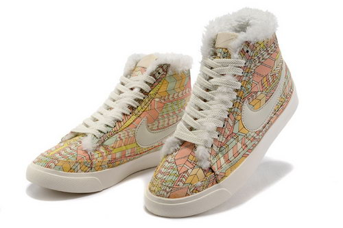 Womens Nike Blazer High Bamboo Feathers On Sale