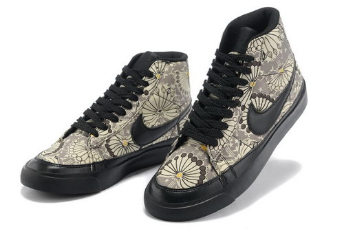 Womens Nike Blazer High Black Sun Flower Reduced