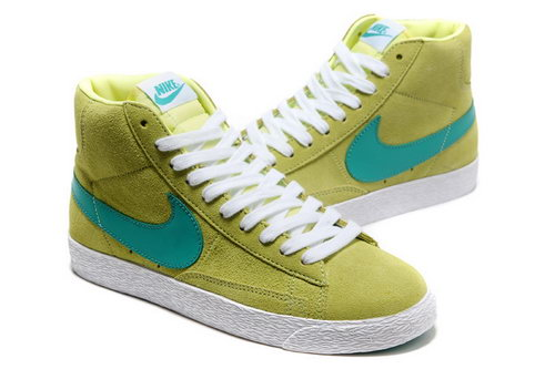 Womens Nike Blazer High I Fluorescence Green On Sale