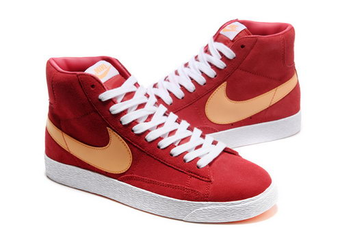 Womens Nike Blazer High I Red Orange Online Shop