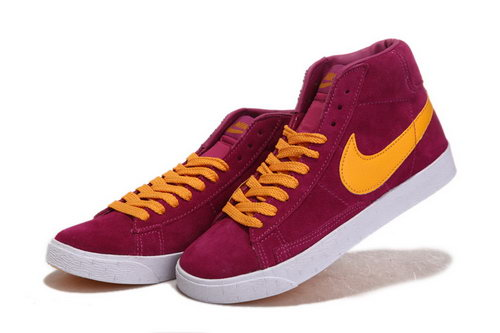 Womens Nike Blazer High I Wine Orange Spain