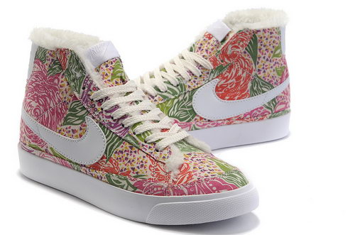 Womens Nike Blazer High Pitaya Feathers Taiwan