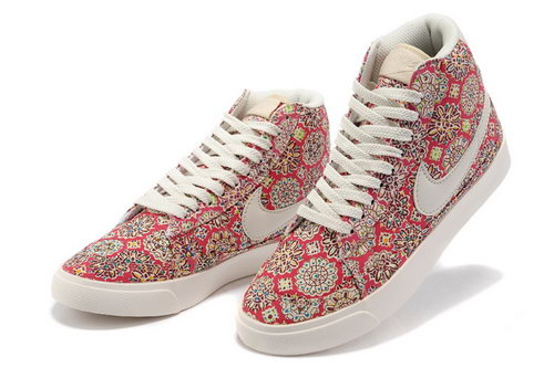 Womens Nike Blazer High Red Sun Germany
