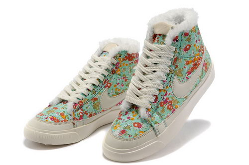 Womens Nike Blazer Hight Broken Flower Feathers Inexpensive