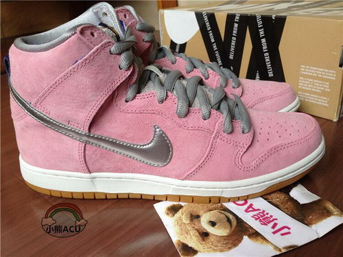 Womens Nike Dunk High Flying Pig - Pink Online Shop