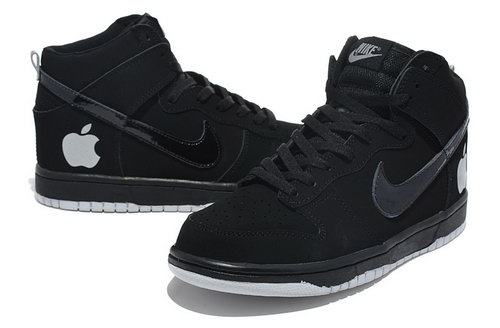 Womens Nike Dunk High Black Apple Reduced
