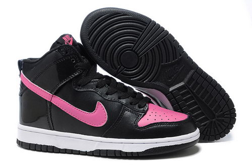 Womens Nike Dunk High Black Peach Online
