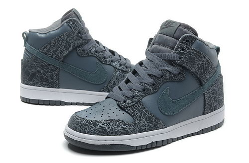 Womens Nike Dunk High Deep Grey Sculpture Norway