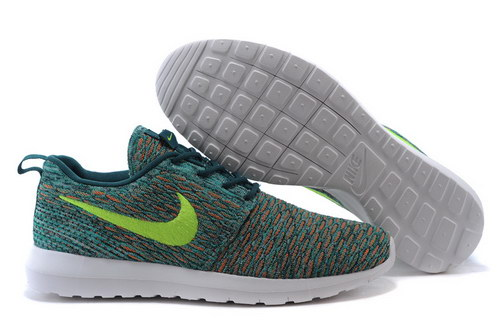 Womens Nike Flyknit Roshe Run Dark Atomic Teal Denmark
