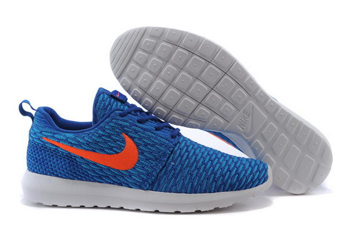 Womens Nike Flyknit Roshe Run Game Royal Factory Store
