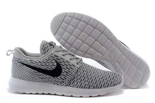 Womens Nike Flyknit Roshe Run Light Charcoal China