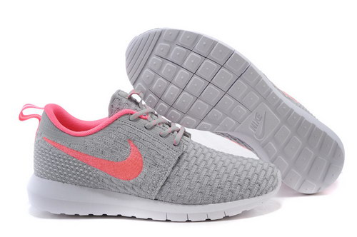 Womens Nike Flyknit Roshe Run Light Gray Powder Ireland