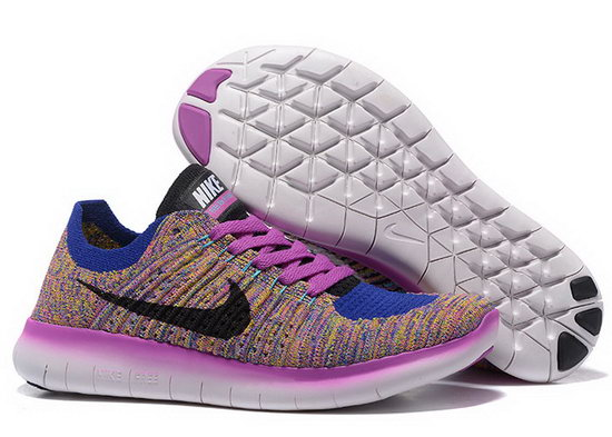 Womens Nike Free Flyknit 5.0 V2 Blue Purple Spain