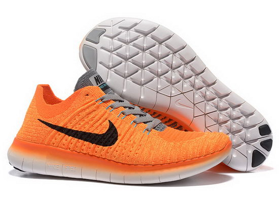 Womens Nike Free Flyknit 5.0 V2 Orange Black Review